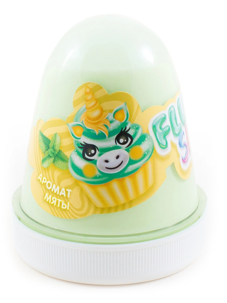 Слайм KiKi Monsters Slime Fluffy Мята Mint FL013