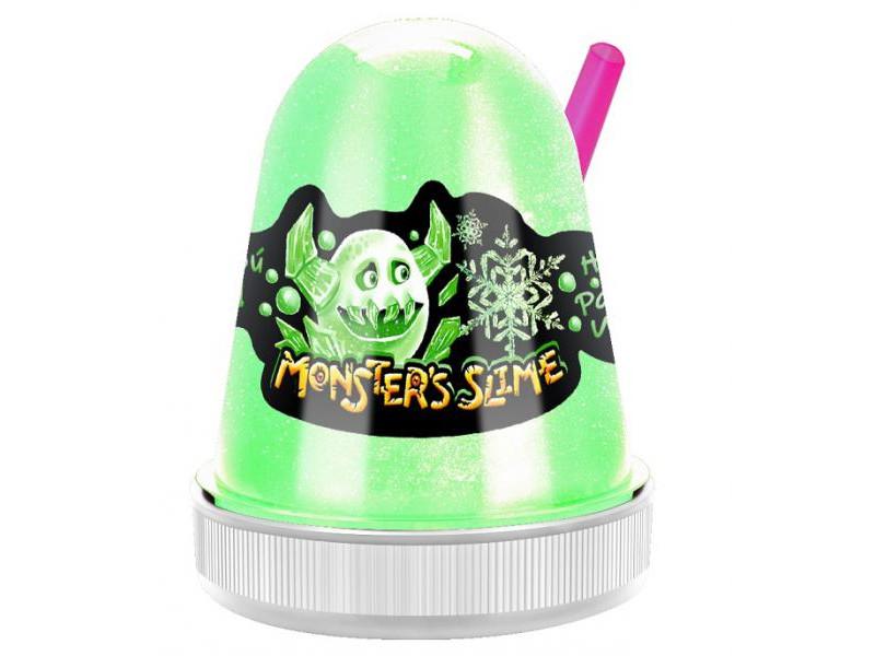 Слайм KiKi MonsterS Slime Цветной Лед 130g SL016