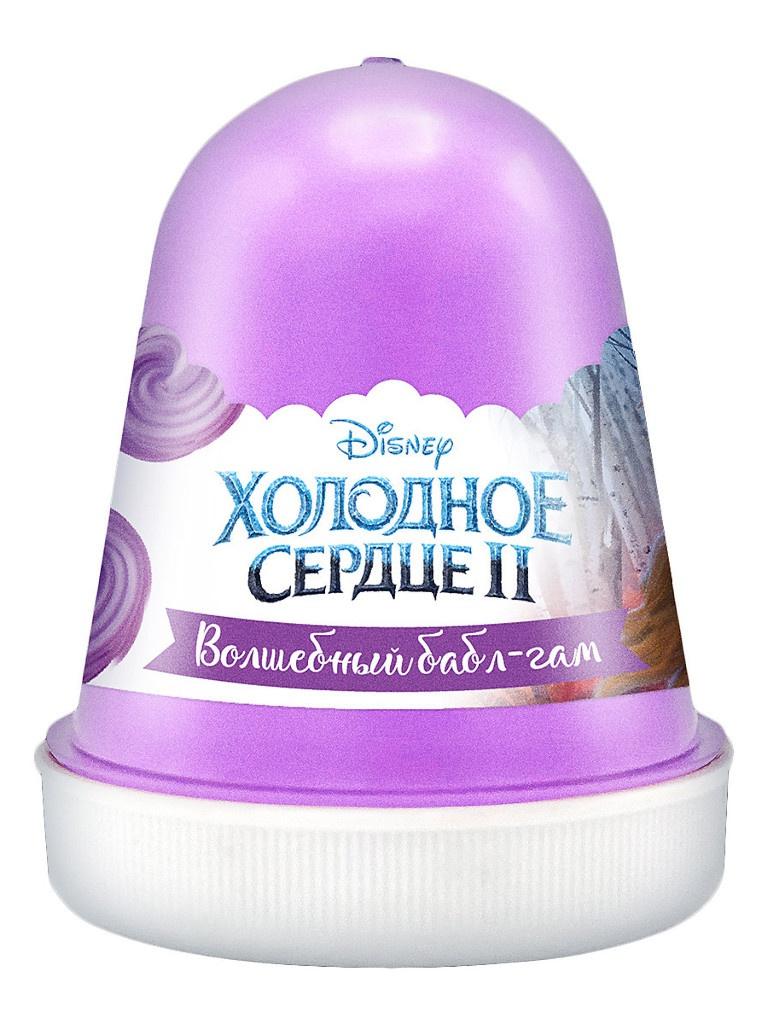 Слайм KiKi Disney Fluffy Волшебный бабл-гам Lilac 120ml DSF03