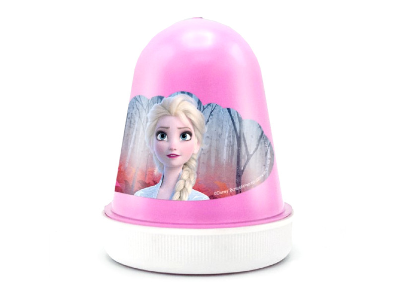 Слайм KiKi Disney Fluffy Волшебная клубника со сливками Pink 120ml DSF04
