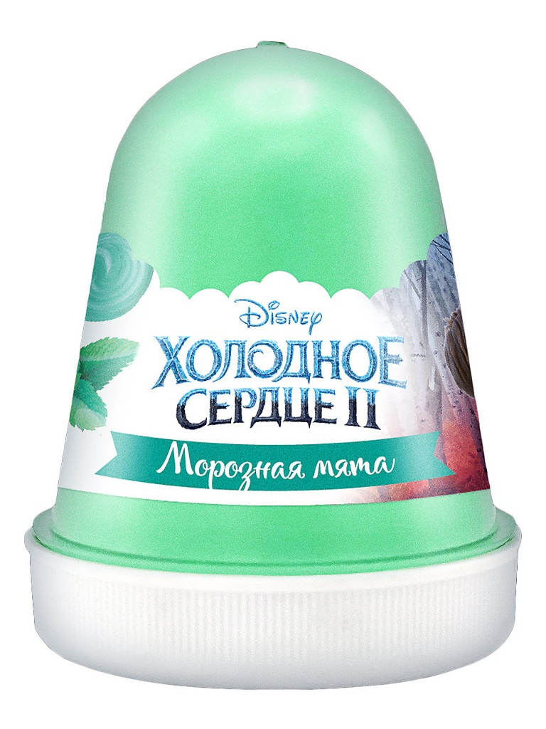 Слайм KiKi Disney Fluffy Морозная мята Mint 120ml DSF05