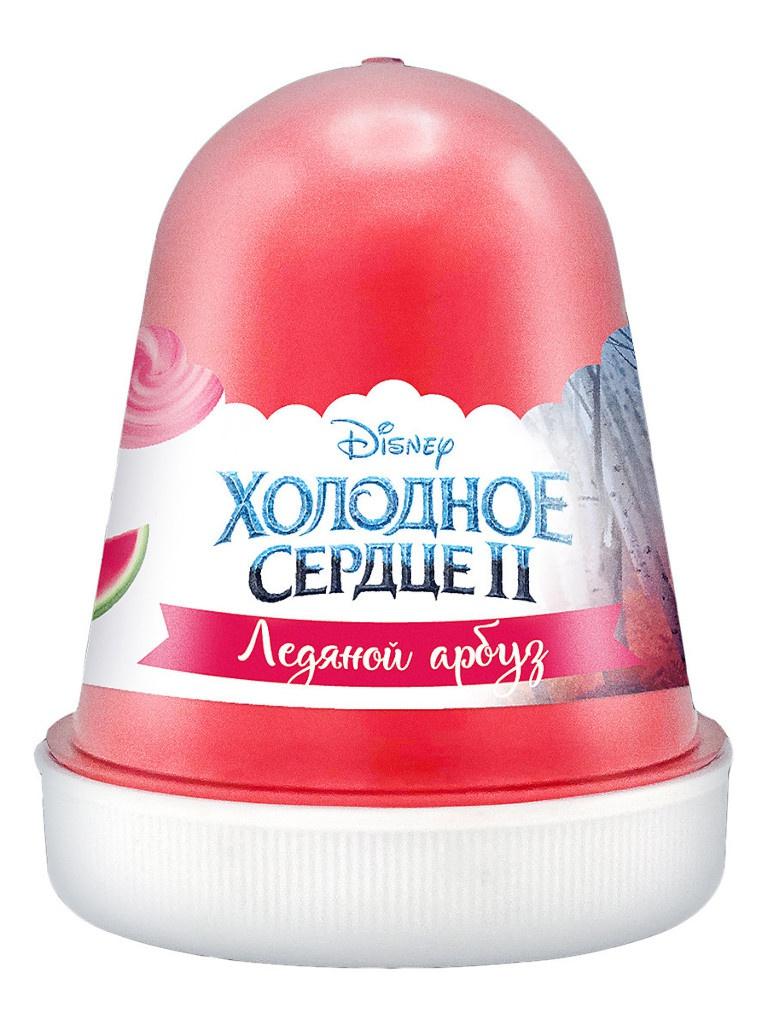 Слайм KiKi Disney Fluffy Ледяной арбуз Red 120ml DSF07