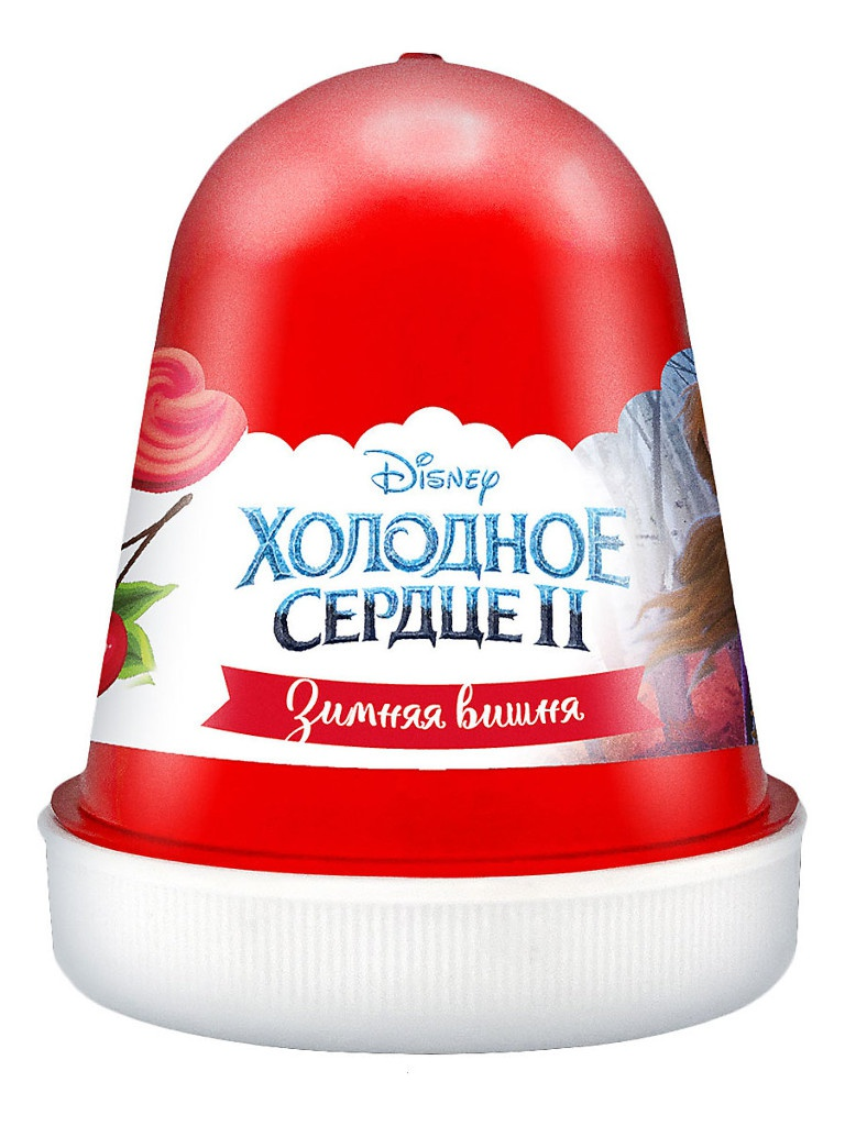 Слайм KiKi Disney Fluffy Зимняя вишня Dark-Red 120ml DSF13