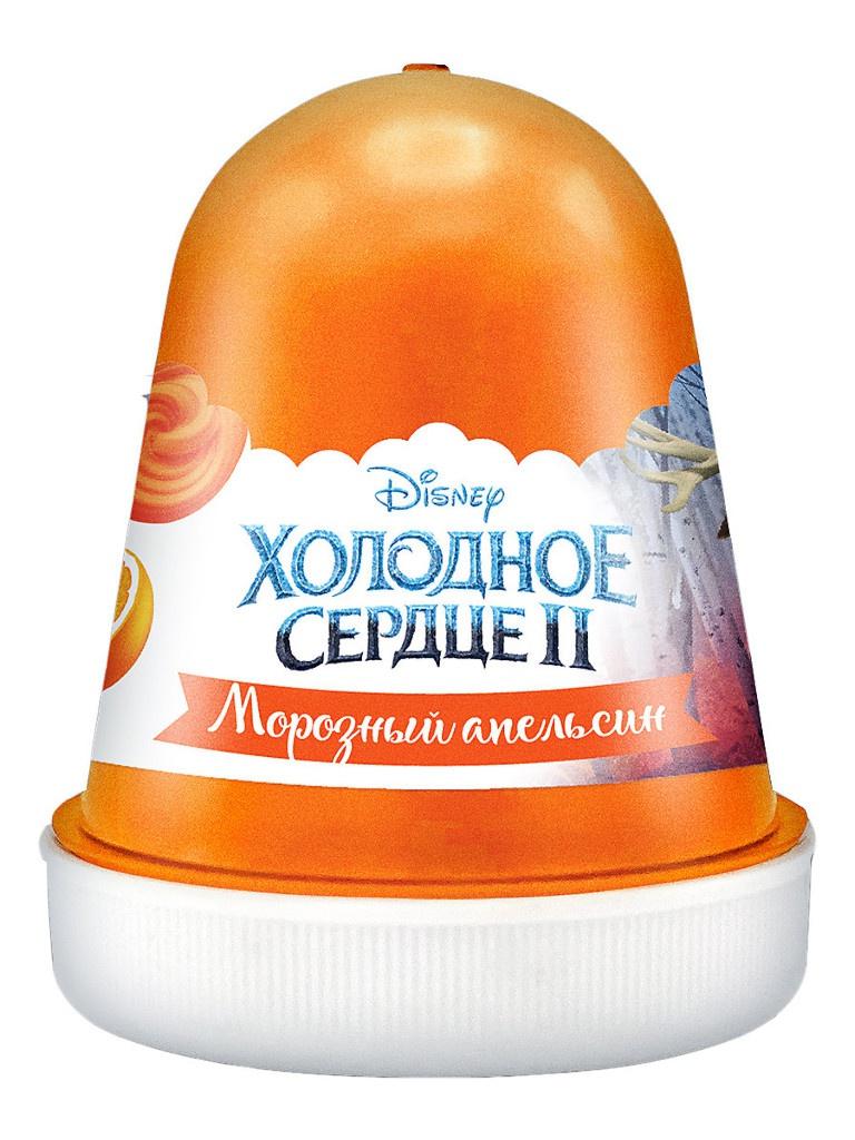 Слайм KiKi Disney Fluffy Морозный апельсин Orange 120ml DSF08