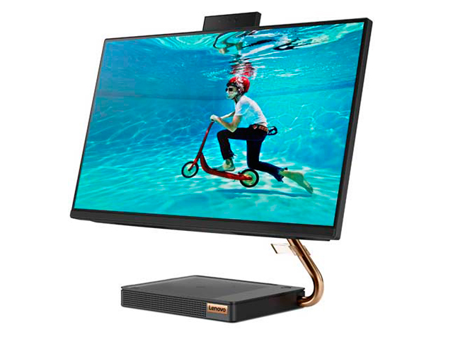 Моноблок Lenovo IdeaCentre A540-24ICB F0EL001GRK (Intel Core i3-9100T 3.1 GHz/8192Mb/1000Gb + 256Gb SSD/Intel UHD Graphics/Wi-Fi/Bluetooth/Cam/23.8/1920x1080/Windows 10 Home 64-bit)