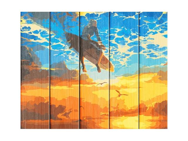 Картина по номерам Flamingo Beautiful World 40x50cm FLA009