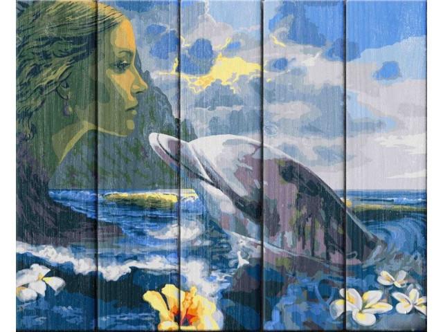 Картина по номерам Dali Морская идиллия WS045