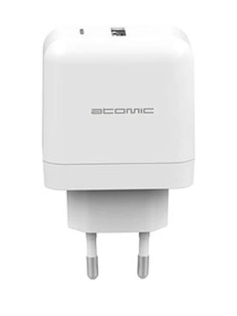 Зарядное устройство Atomic U216W Quick Charge 3.0 3A