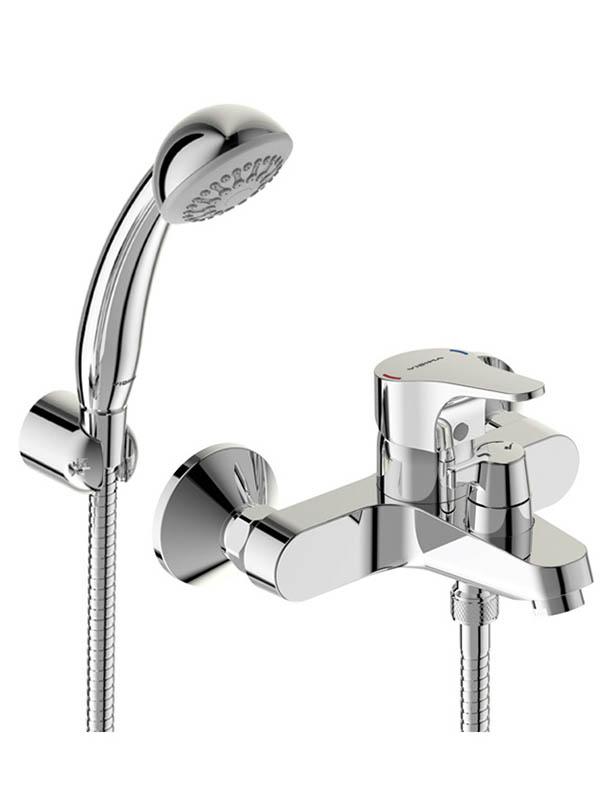 Смеситель VIDIMA Некст BA371AA хром смеситель для ванны с коротким изливом vidima next ba371aa