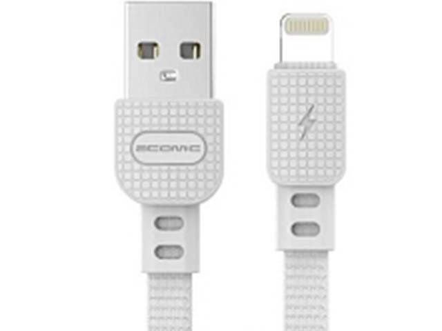 Аксессуар Atomic Sharkskin USB - Lightning 1.5m White 30300