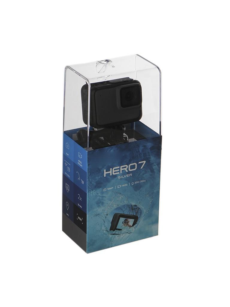 Экшн-камера GoPro Hero 7 Silver Edition CHDHC-601-LE Выгодный набор + серт. 200Р!!!