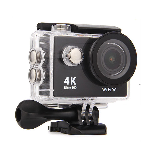 Экшн-камера EKEN H9 Ultra HD Black Выгодный набор + серт. 200Р!!!