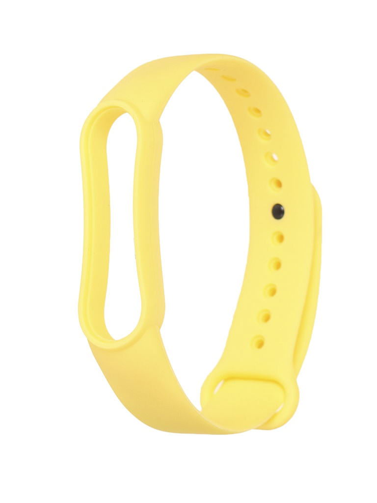 Aксессуар Ремешок Xiaomi для Mi Band 5 Silicone Strap Yellow