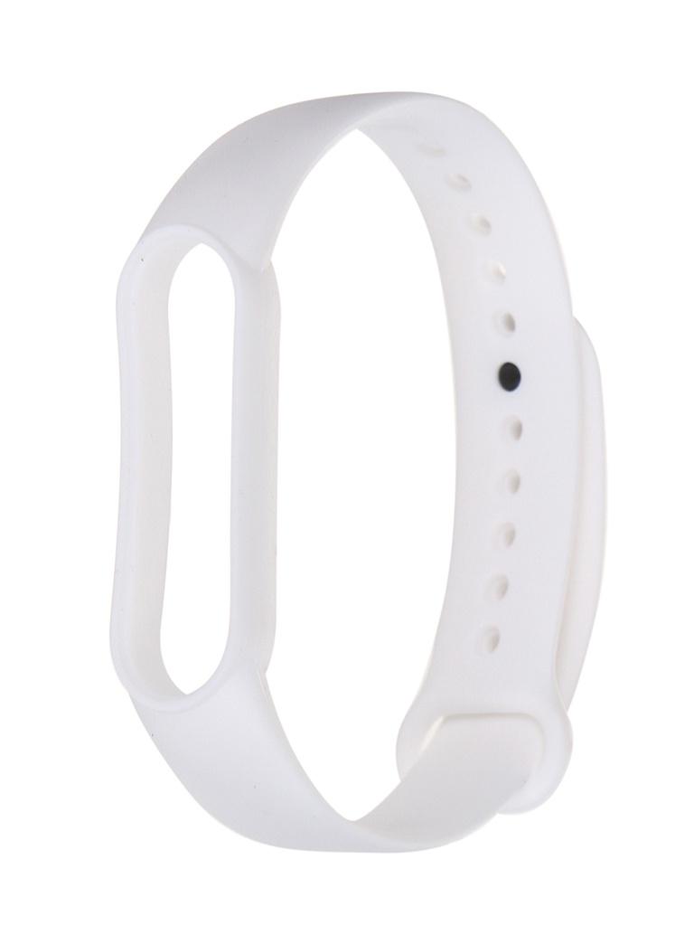 Aксессуар Ремешок Xiaomi для Mi Band 5 Silicone Strap White