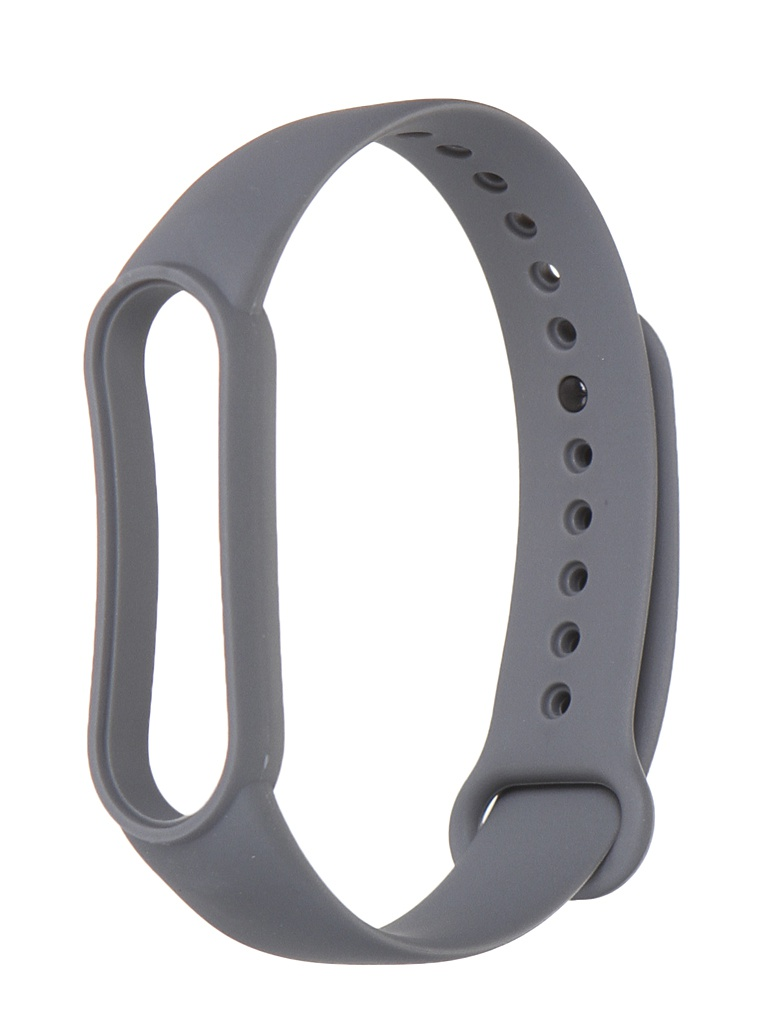 Aксессуар Ремешок Xiaomi для Mi Band 5 Silicone Strap Light Grey