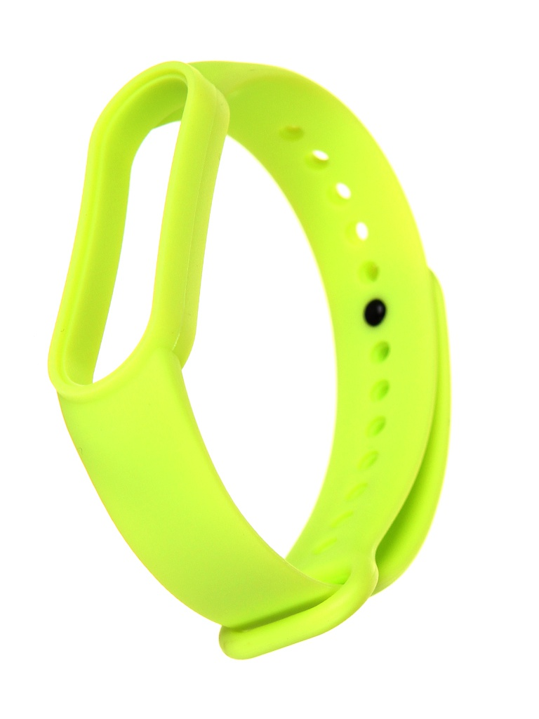 Aксессуар Ремешок Xiaomi для Mi Band 5 Silicone Strap Light Green