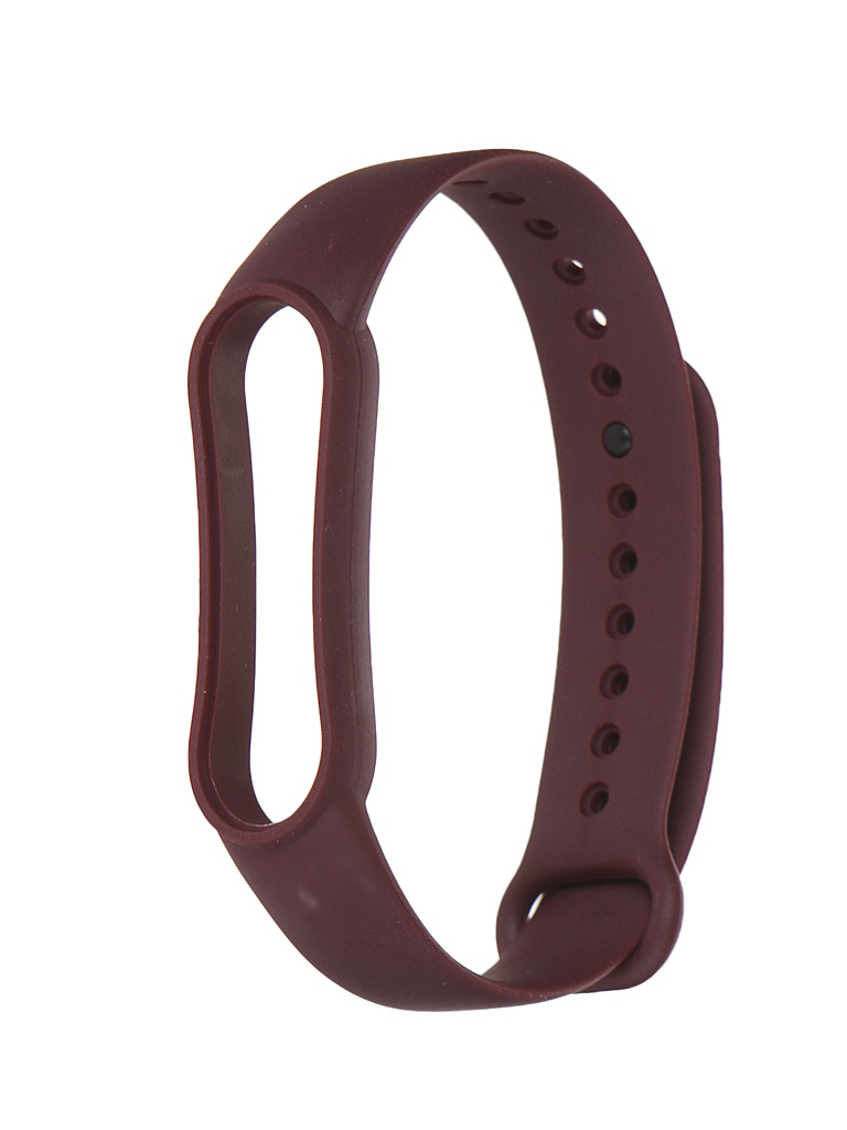 Aксессуар Ремешок Xiaomi для Mi Band 5 Silicone Strap Dark Red