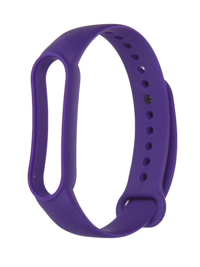 Aксессуар Ремешок Xiaomi для Mi Band 5 Silicone Strap Dark Purple