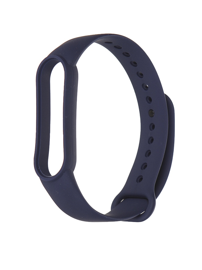 Aксессуар Ремешок Xiaomi для Mi Band 5 Silicone Strap Dark Blue