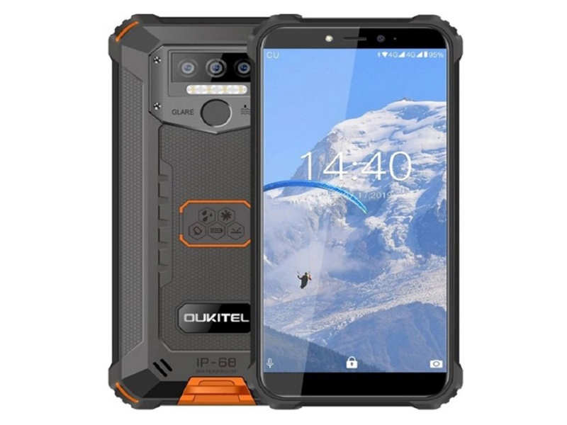 Сотовый телефон Oukitel WP5 4/32Gb Orange