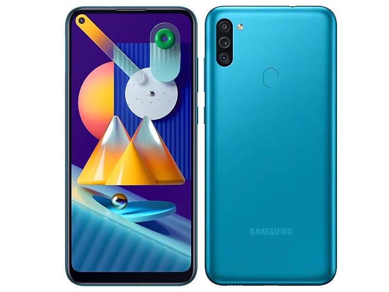 Сотовый телефон Samsung SM-M115F Galaxy M11 3Gb/32Gb Torquise Выгодный набор + серт. 200Р!!!