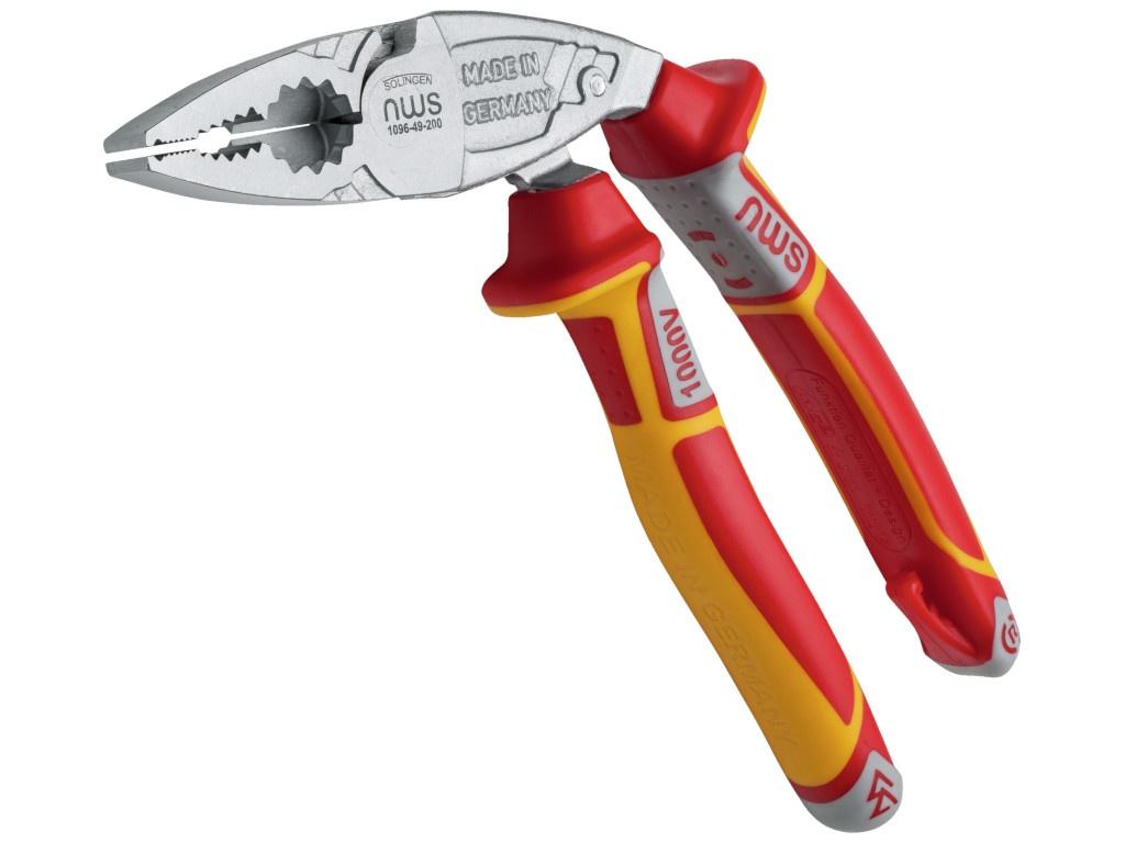Губцевый инструмент NWS ErgoCombi 1096-49-VDE-200