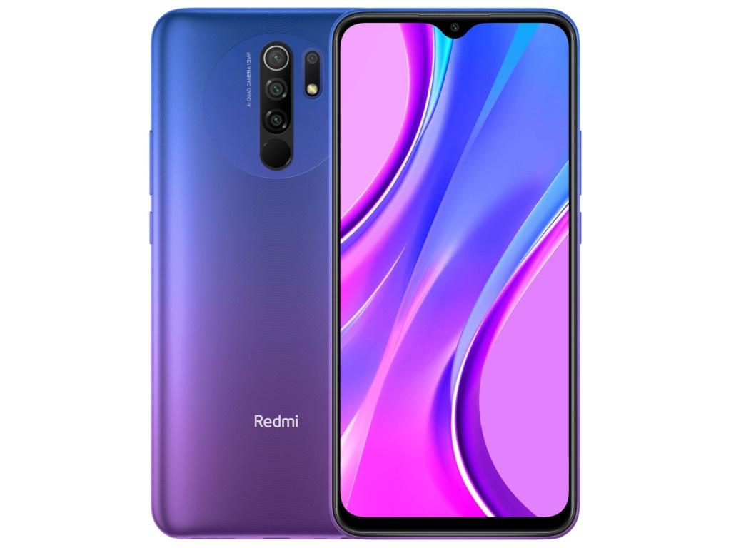 Сотовый телефон Xiaomi Redmi 9 3/32Gb Sunset Purple Выгодный набор + серт. 200Р!!!