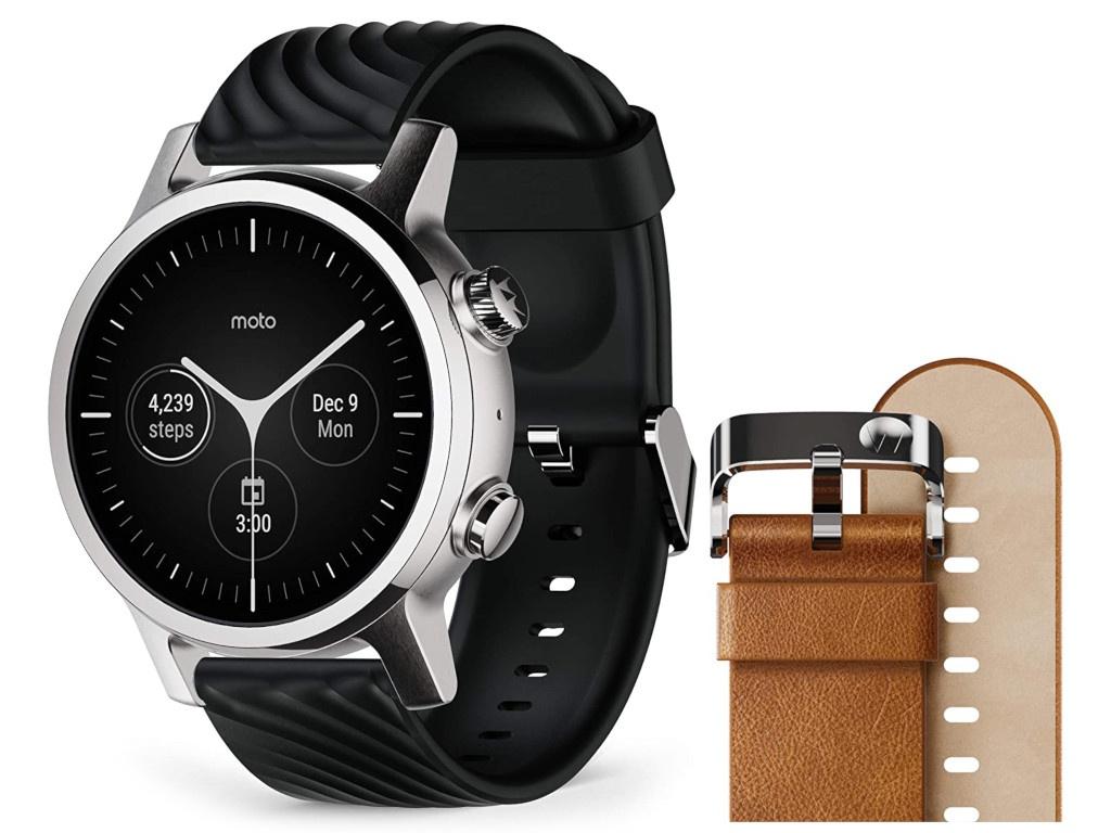 Умные часы Motorola Moto 360 3rd Gen Stainless Steel Grey M360FS19SS