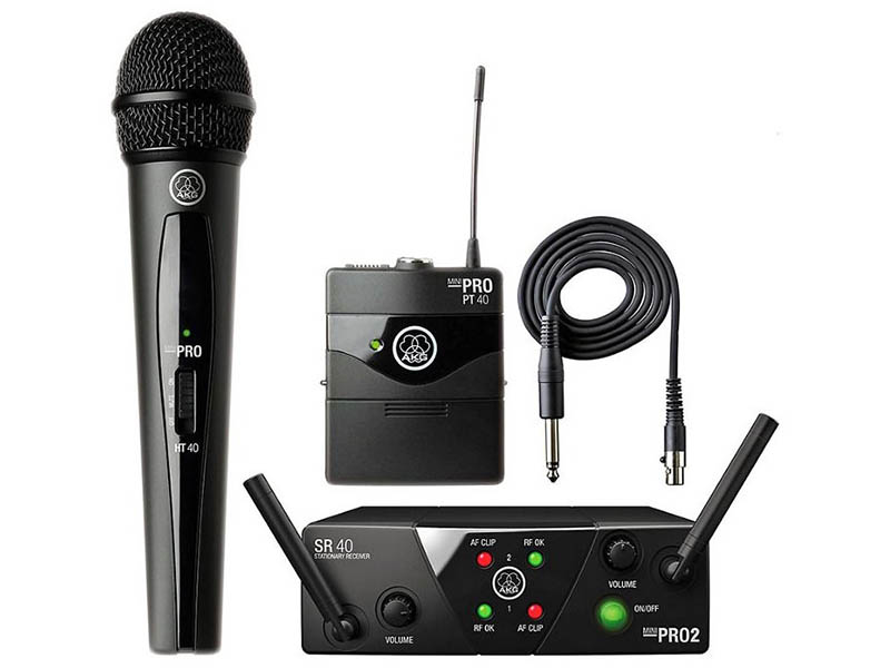 Радиосистема AKG WMS40 Mini 2 Mix Set US25AC