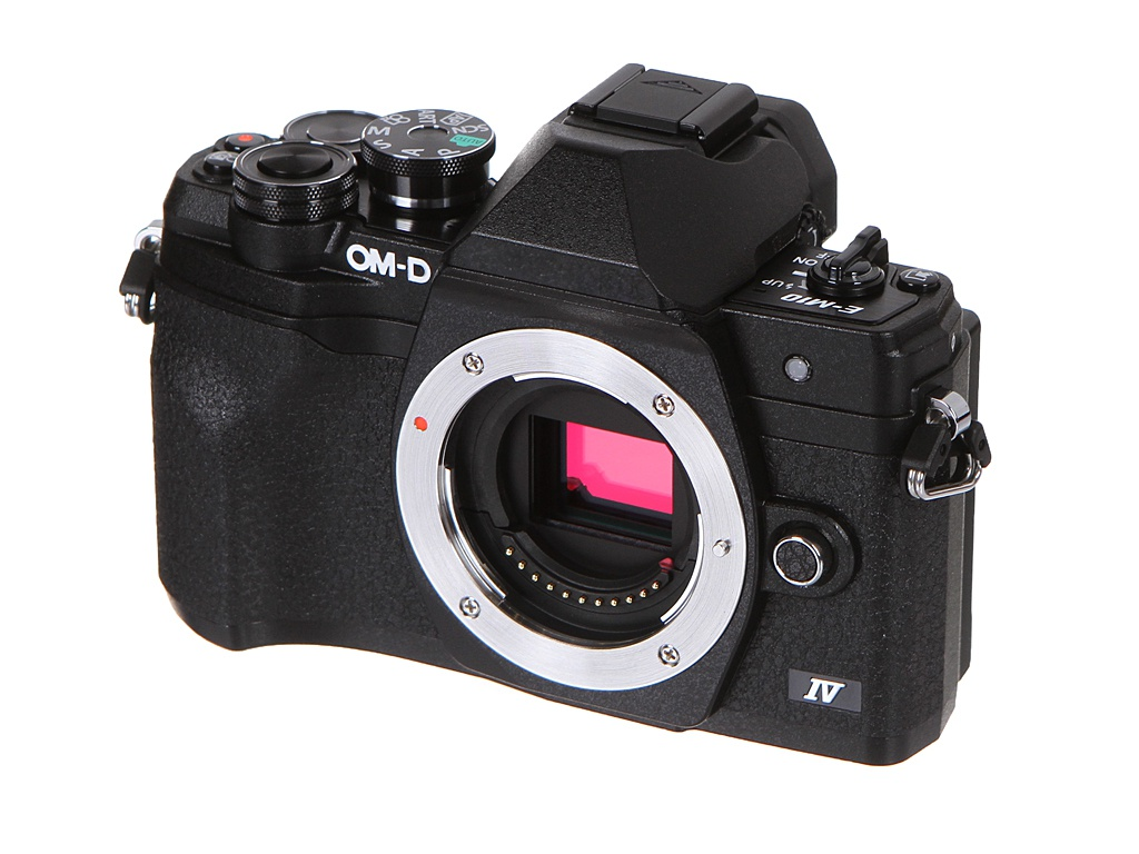 Фотоаппарат Olympus OM-D E-M10 Mark IV Body Black