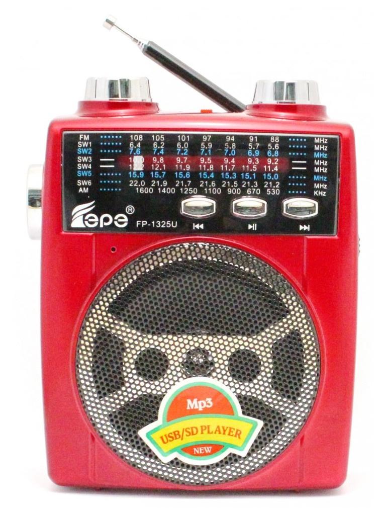 Радиоприемник Fepe FP-1325U Red