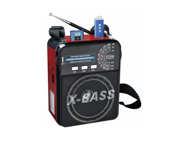 Радиоприемник Fepe FP-1322U Red