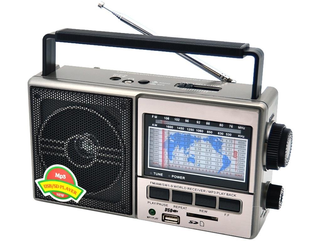 Радиоприемник Fepe FP-901UR Grey