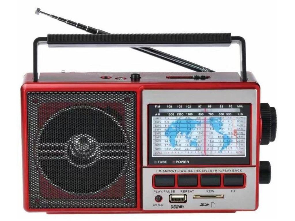 Радиоприемник Fepe FP-901UR Red
