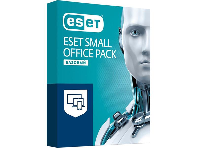 Программное обеспечение Eset NOD32 Small Office Pack Базовый Newsale для 3 пользователей NOD32-SOP-NS(BOX)-1-3