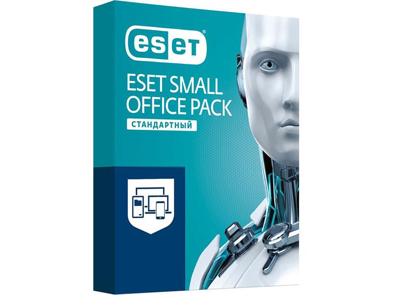 Программное обеспечение Eset NOD32 Small Office Pack Стандартный New для 10 пользователей NOD32-SOS-NS(BOX)-1-10