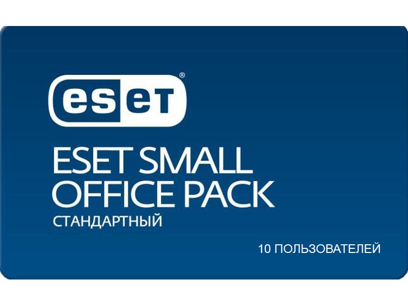 Программное обеспечение Eset NOD32 Small Office Pack Стандартный New для 10 пользователей NOD32-SOS-NS(CARD)-1-10