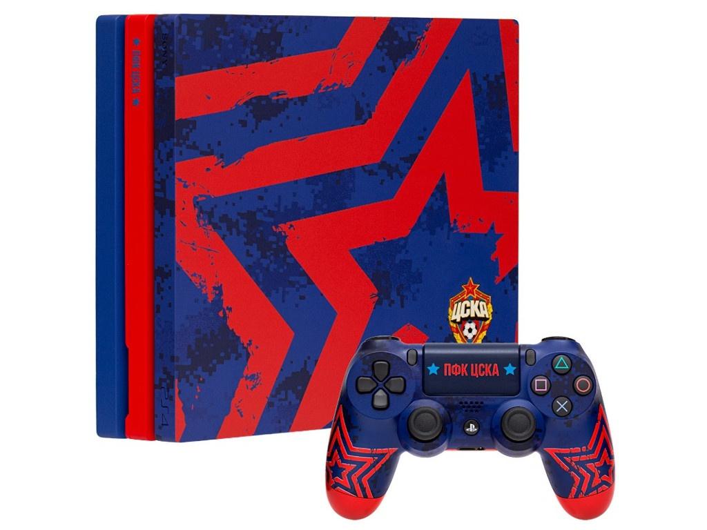 Игровая приставка Sony PlayStation4 Pro 1Тb ЦСКА Армейцы Москвы RB-PS435