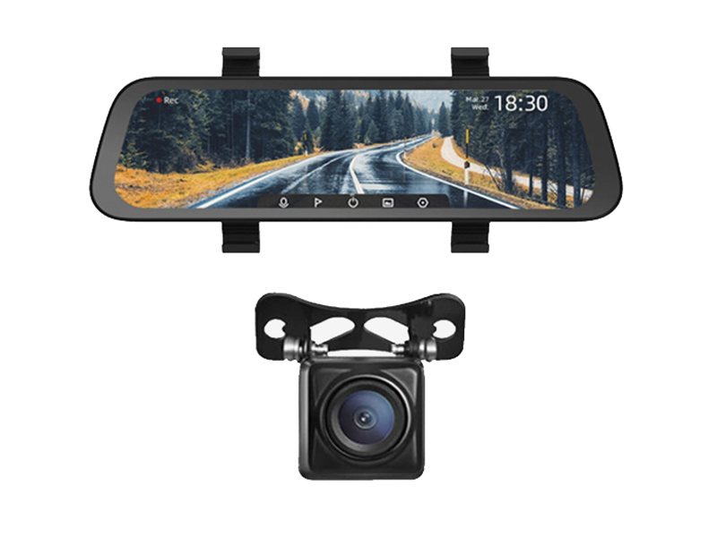 Видеорегистратор Xiaomi 70mai Rearview Dash Cam Wide Midrive D07 + Reversing Night RC05