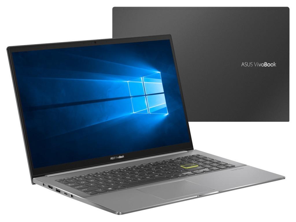 Ноутбук ASUS VivoBook S533FL-BQ054T 90NB0LX3-M00940 (Intel Core i5-10210U 1.6 GHz/8192Mb/256Gb SSD/nVidia GeForce MX250 2048Mb/Wi-Fi/Bluetooth/Cam/15.6/1920x1080/Windows 10 Home 64-bit)