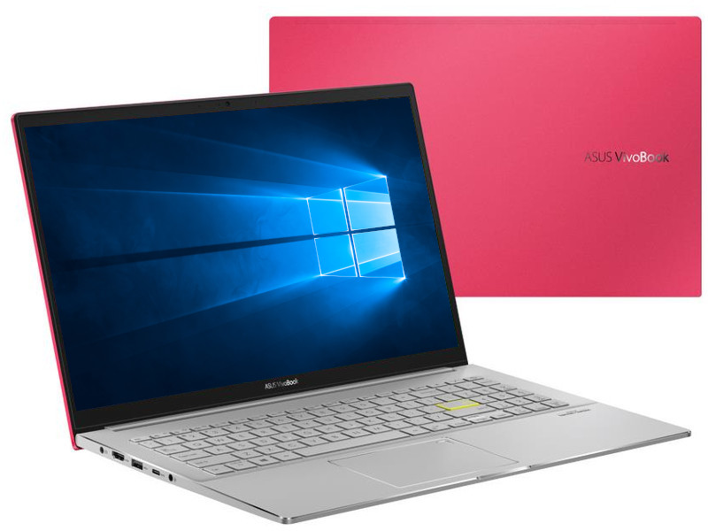 Ноутбук ASUS VivoBook S533FL-BQ056T 90NB0LX2-M00970 (Intel Core i7 10510U 1.8GHz/8192Mb/32Gb Intel Optane + 512Gb SSD/nVidia GeForce MX250 2048Mb/Wi-Fi/Bluetooth/Cam/15.6/1920x1080/Windows 10 64-bit)