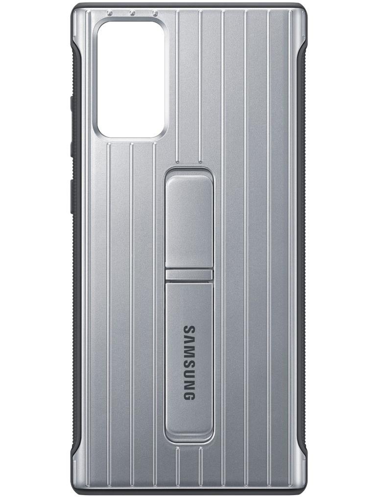 Чехол для Samsung Galaxy Note 20 Protective Standing Cover Silver EF-RN980CSEGRU