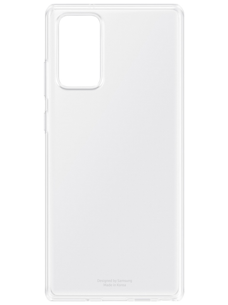 Чехол для Samsung Galaxy Note 20 Clear Cover Transparent EF-QN980TTEGRU