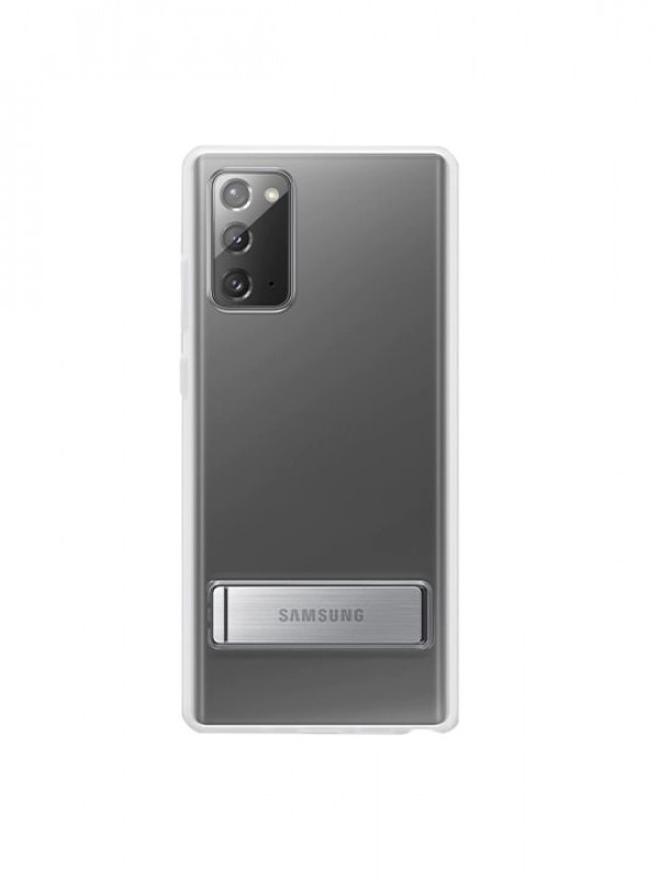 Чехол для Samsung Galaxy Note 20 Clear Standing Cover Transparent EF-JN980CTEGRU