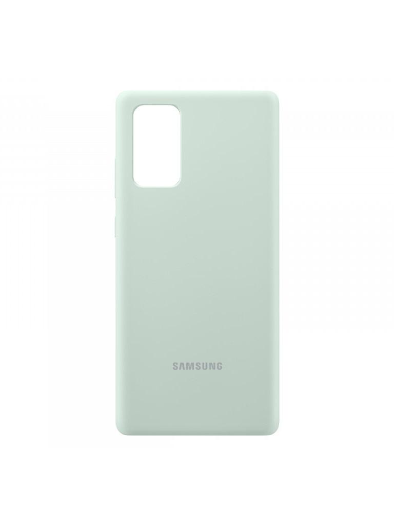 Чехол для Samsung Galaxy Note 20 Silicone Cover Mint EF-PN980TMEGRU