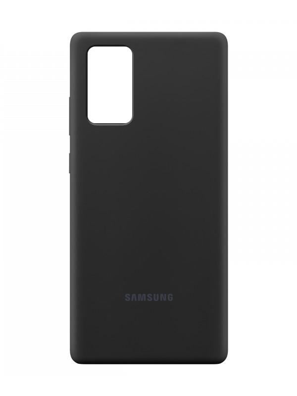Чехол для Samsung Galaxy Note 20 Silicone Cover Black EF-PN980TBEGRU