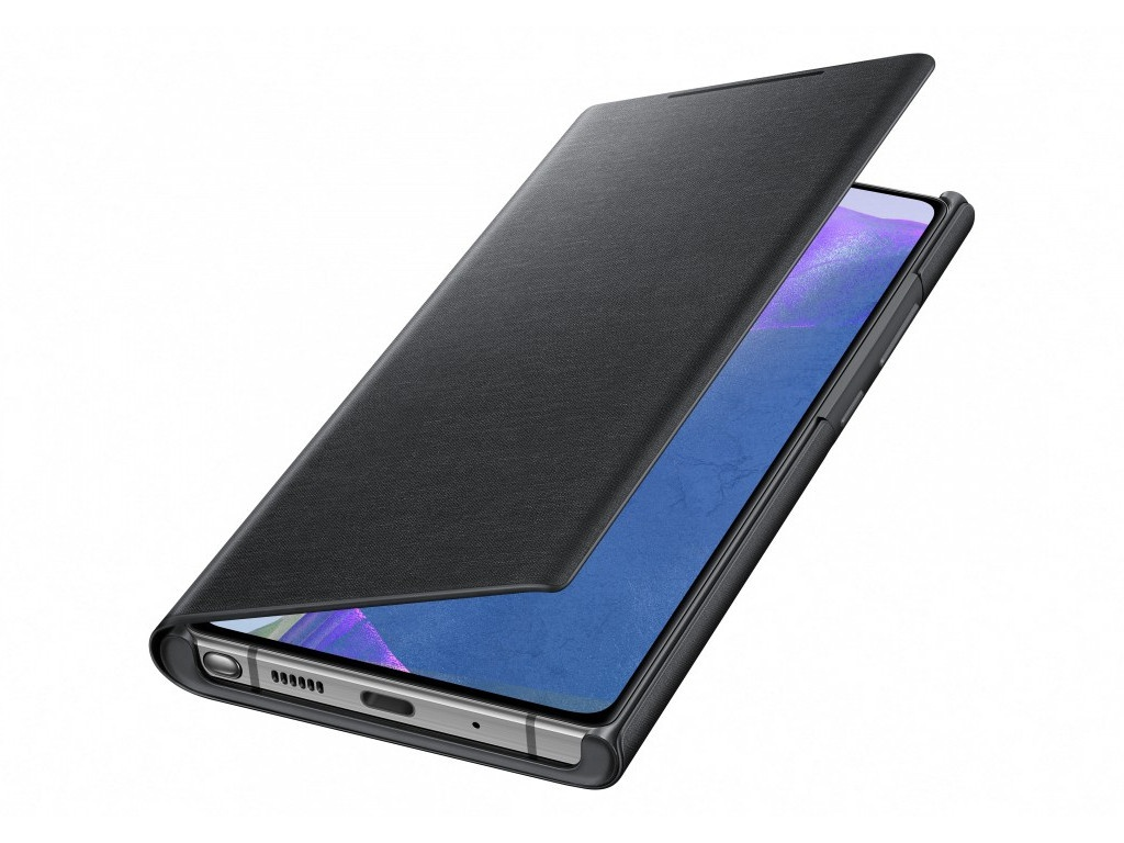 Чехол для Samsung Galaxy Note 20 Smart LED View Cover Black EF-NN980PBEGRU