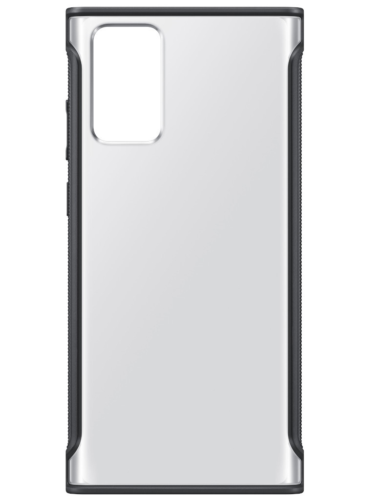 Чехол для Samsung Galaxy Note 20 Clear Protective Cover Transparent-Black EF-GN980CBEGRU
