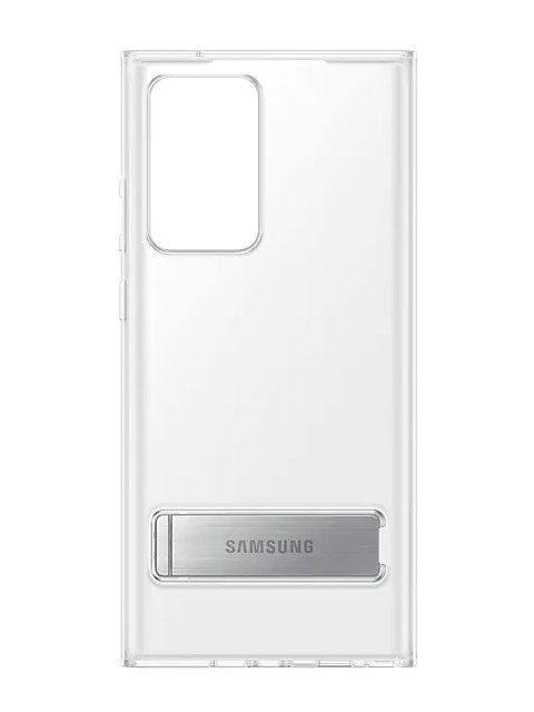 Чехол для Samsung Galaxy Note 20 Ultra Clear Standing Cover Transparent EF-JN985CTEGRU