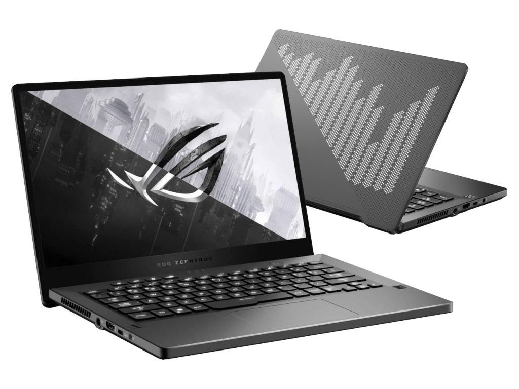 Ноутбук ASUS ROG Zephyrus G14 GA401IU-HE188T 90NR03I6-M04650 (AMD Ryzen 7 4800HS 2.9 GHz/8192Mb/512Gb SSD/nVidia GeForce GTX 1660Ti 6144Mb/Wi-Fi/Bluetooth/14.0/1920x1080/Windows 10 Home 64-bit)